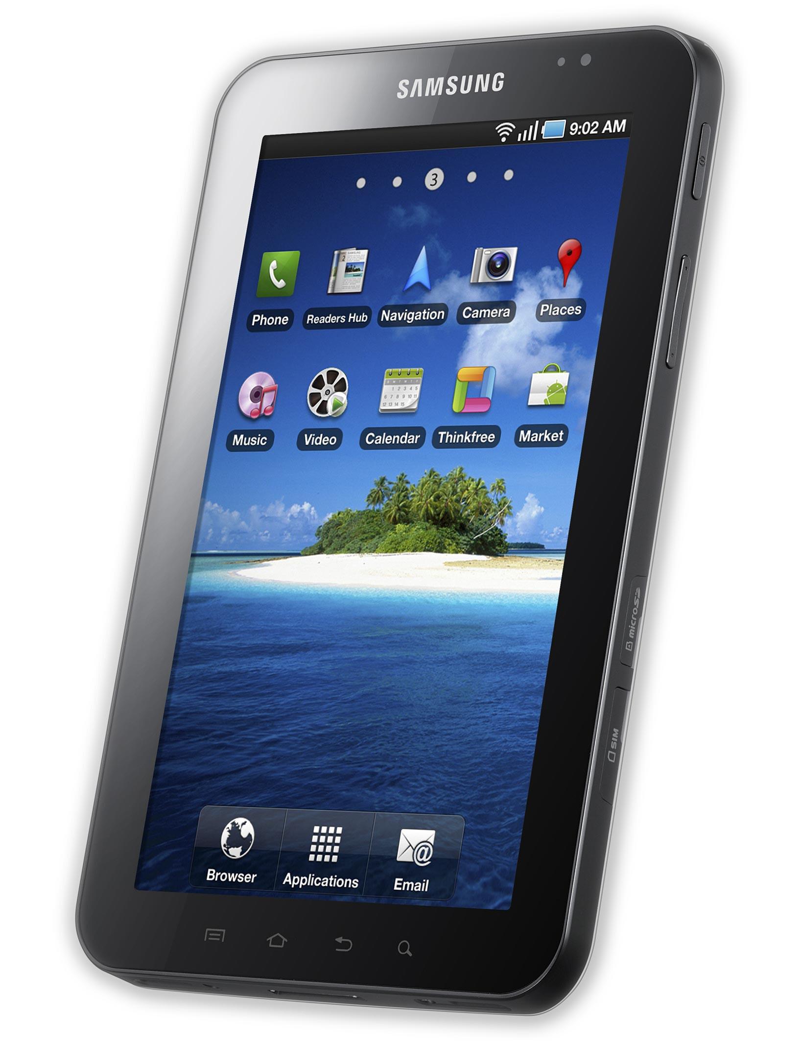 Samsung Galaxy Tab CDMA Specs