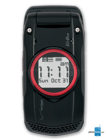 Verizon Casio G'zOne Ravine specs