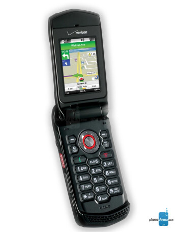 Verizon Wireless Casio G'zOne Ravine