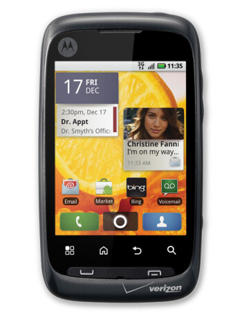 motorola citrus specs rh phonearena com Motorola Citrus Sim Card Can Take Motorola Citrus Review