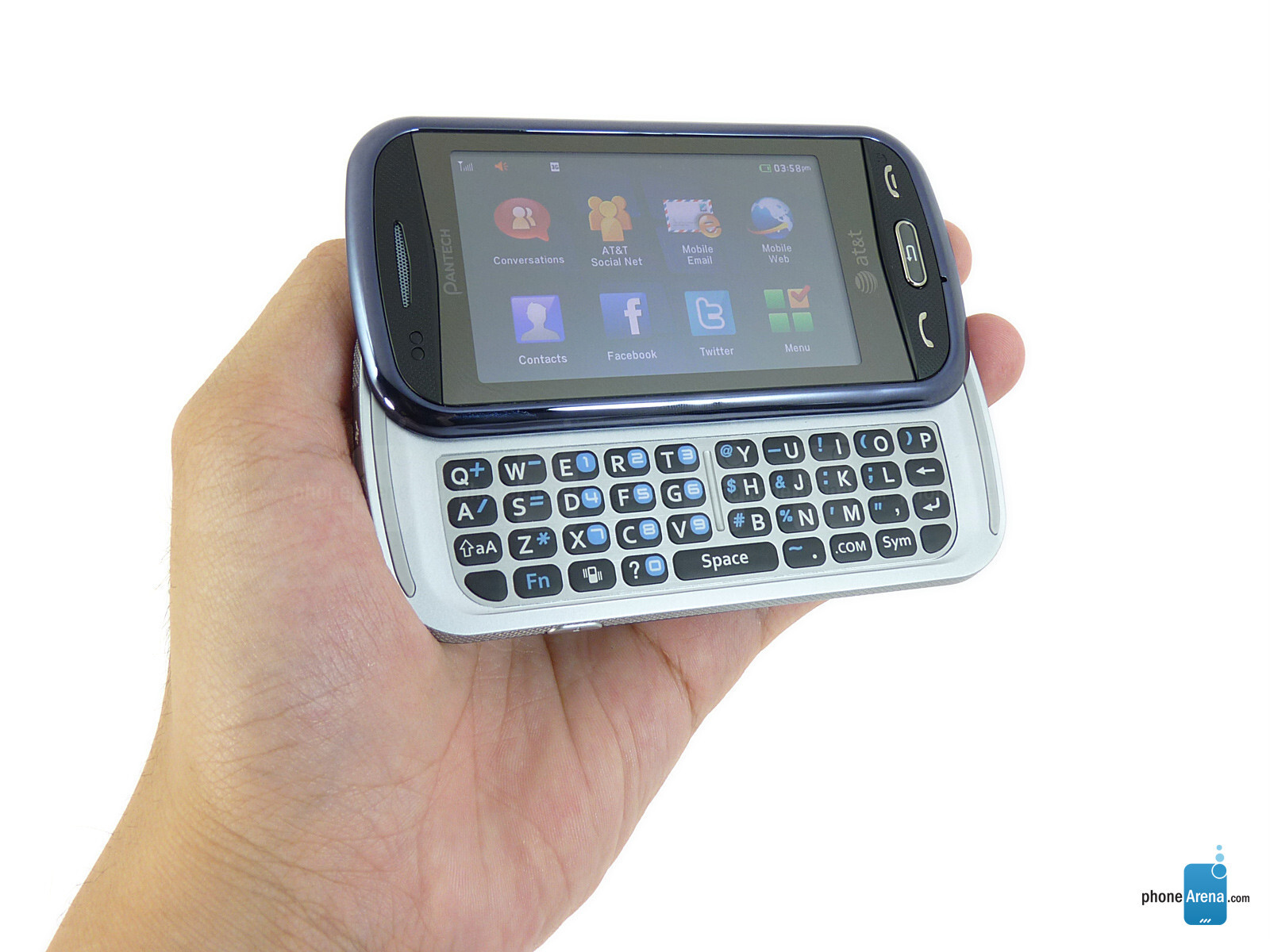 pantech laser photos rh phonearena com AT&T Pantech Phone AT&T Pantech Phone