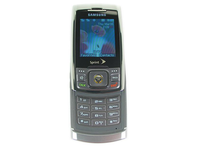 samsung sph m520 photos rh phonearena com Sprint PCS 1990 Samsung Phones Samsung N400