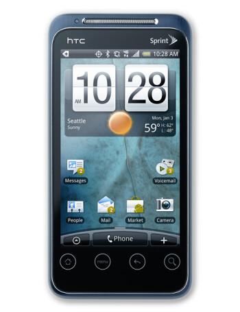HTC EVO Shift 4G specs