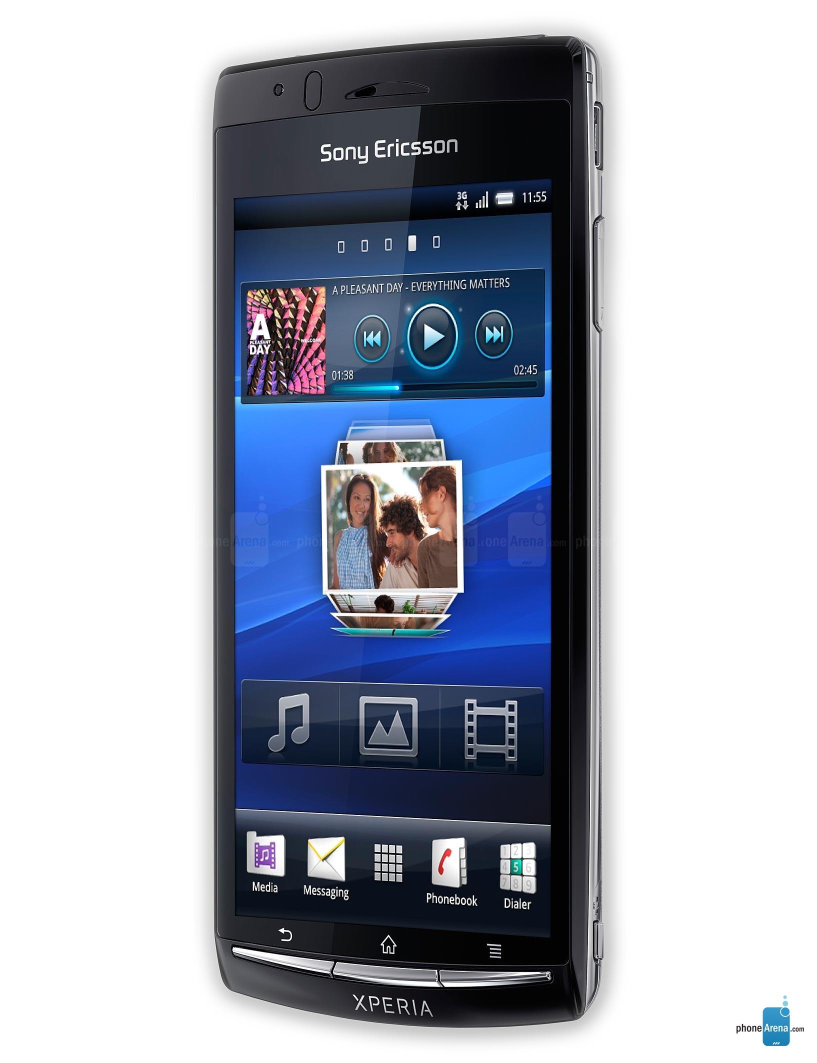 Sony Ericsson Xperia Arc Full Specs