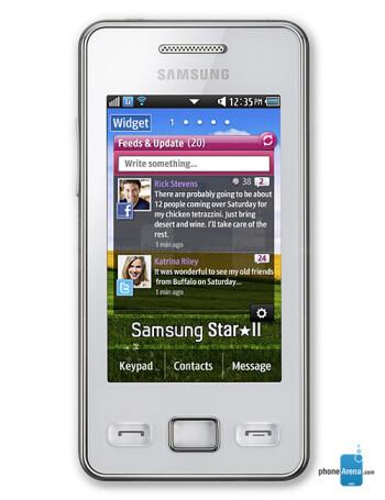 Samsung Star II specs