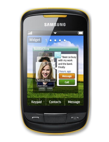 Samsung Corby II specs