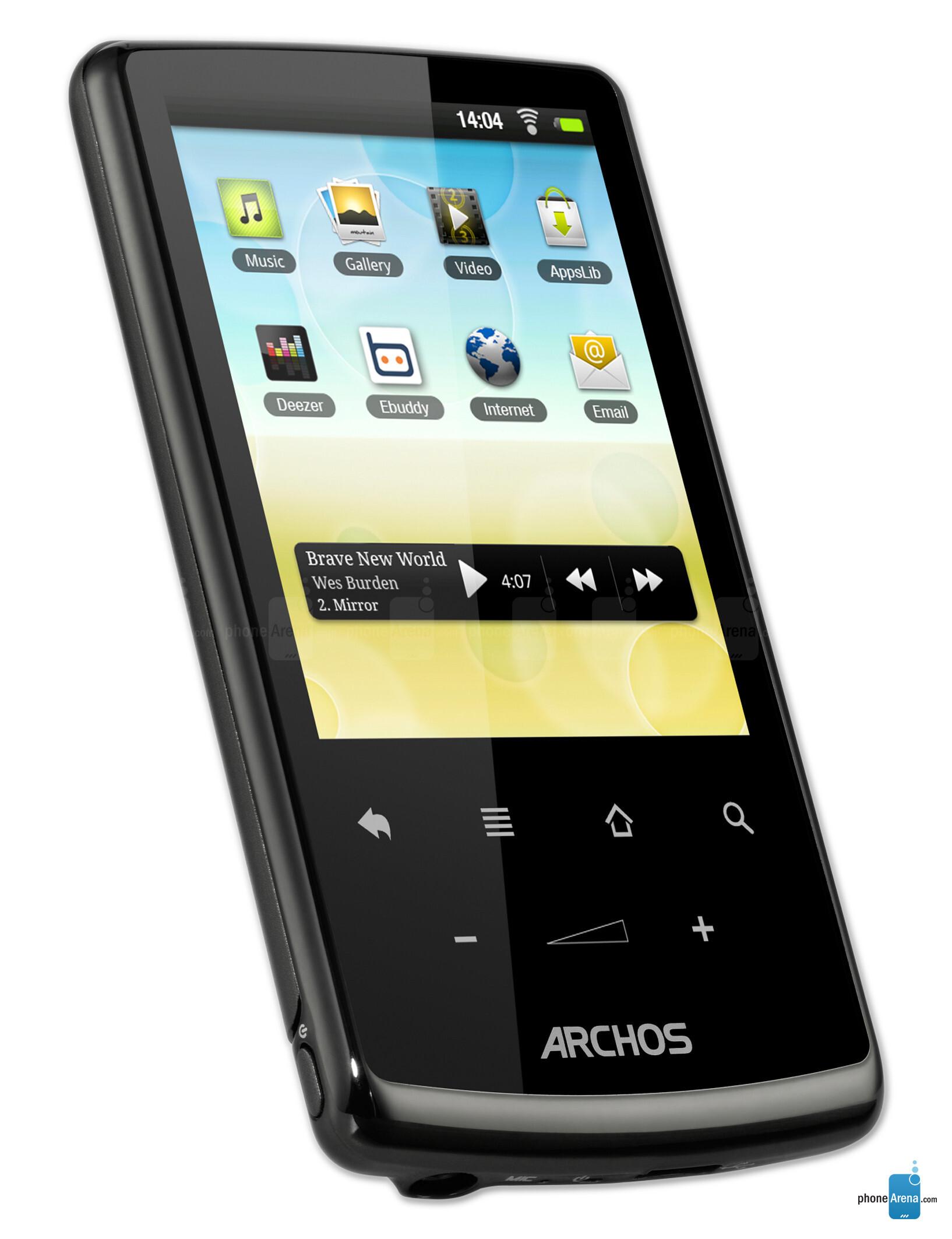 "archos 28 internet tablet full specs Archos Windows Archos 7"" 8GB Home Tablet"