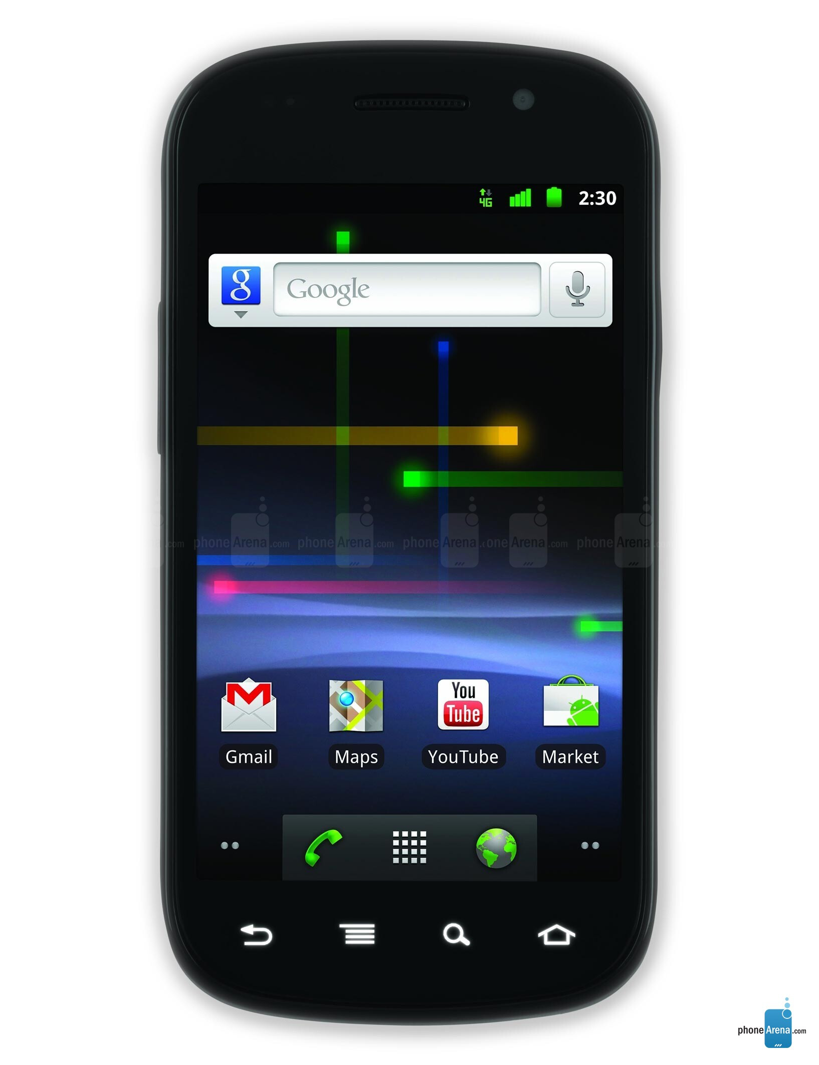 Google Launches New Nexus S with 4G