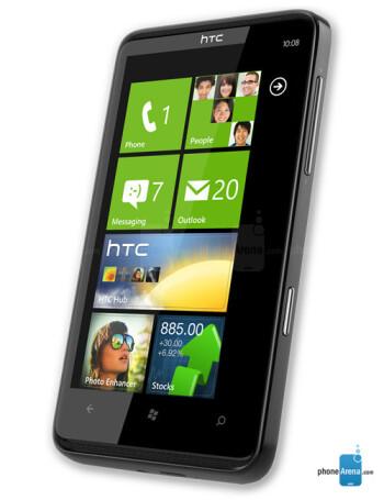 HTC HD7S specs