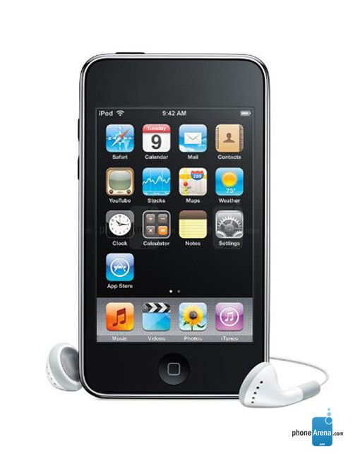 Apple iPod touch 2nd generation specs