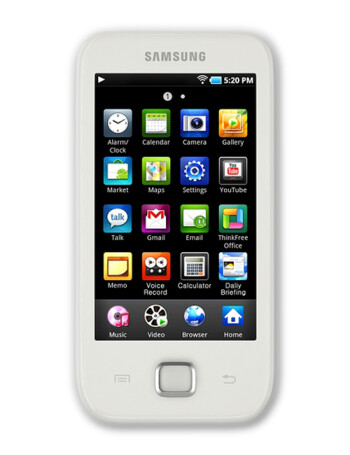 Samsung Galaxy Player 50 specs