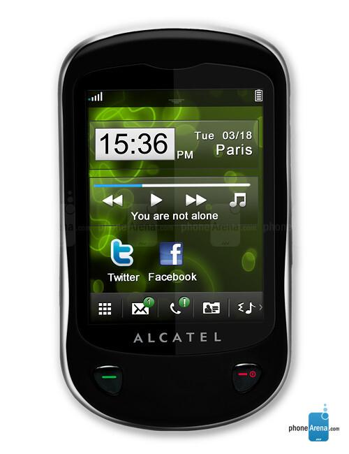 how to turn on flashlight on alcatel phone