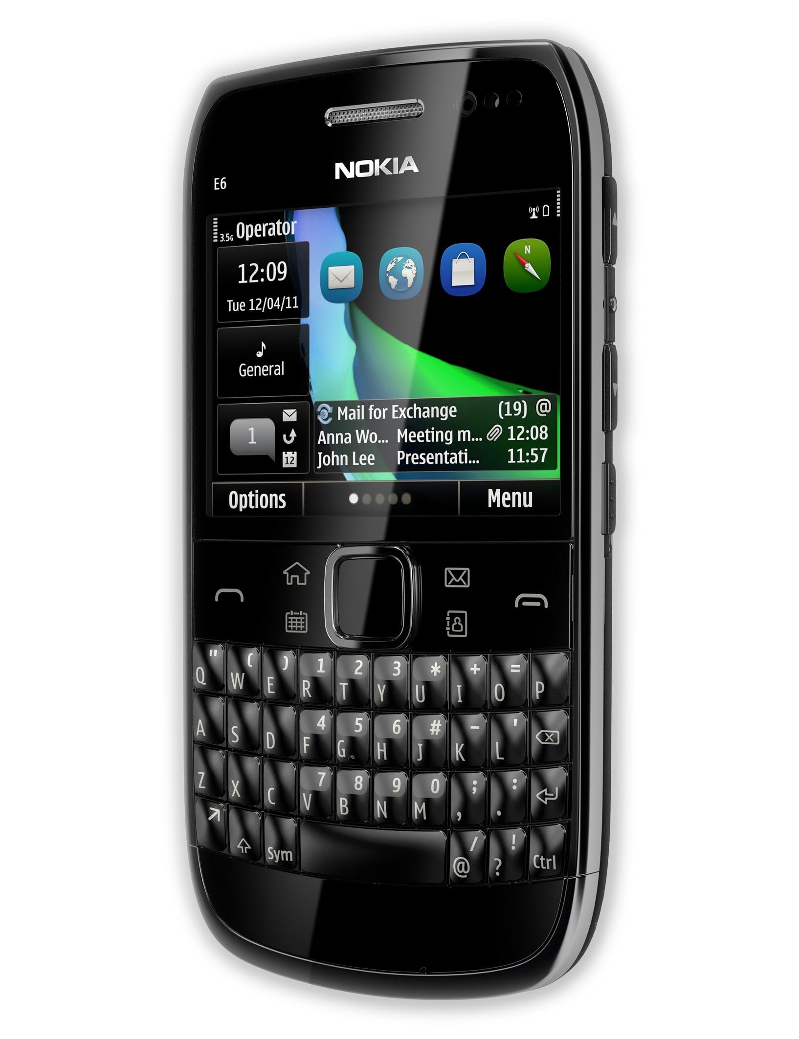 Nokia E6 Specs