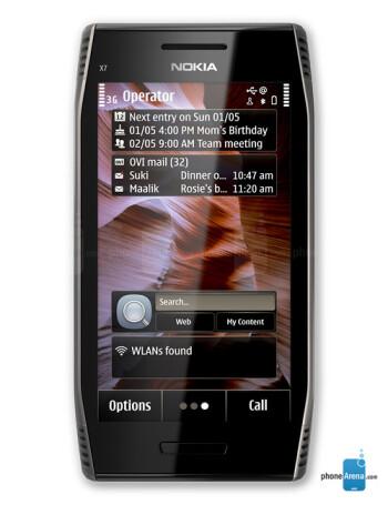 Nokia X7 specs