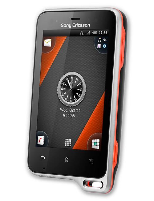 Sony Ericsson Xperia active specs
