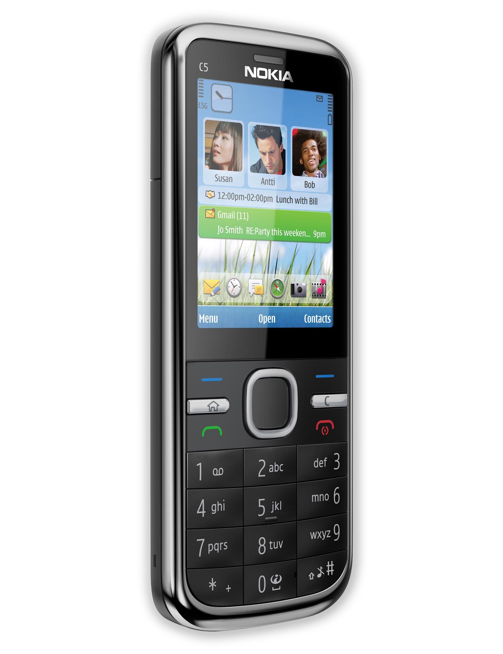Nokia C5 5mp Specs