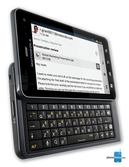 Motorola DROID 3 full specs