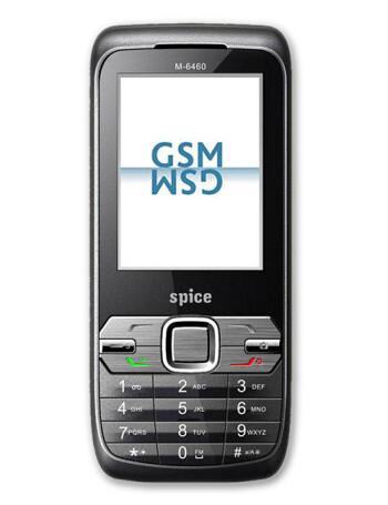 Spice Mobile M-6460