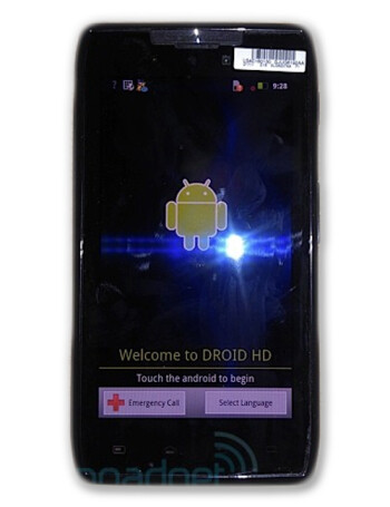 Motorola DROID HD