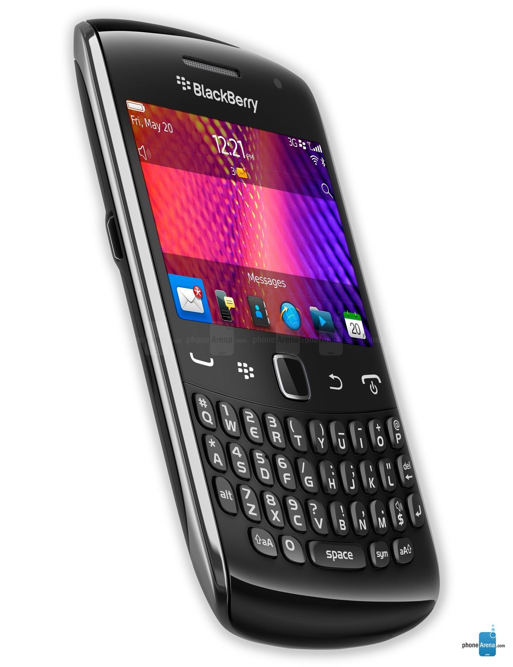 Обзор RIM BlackBerry Curve 9350