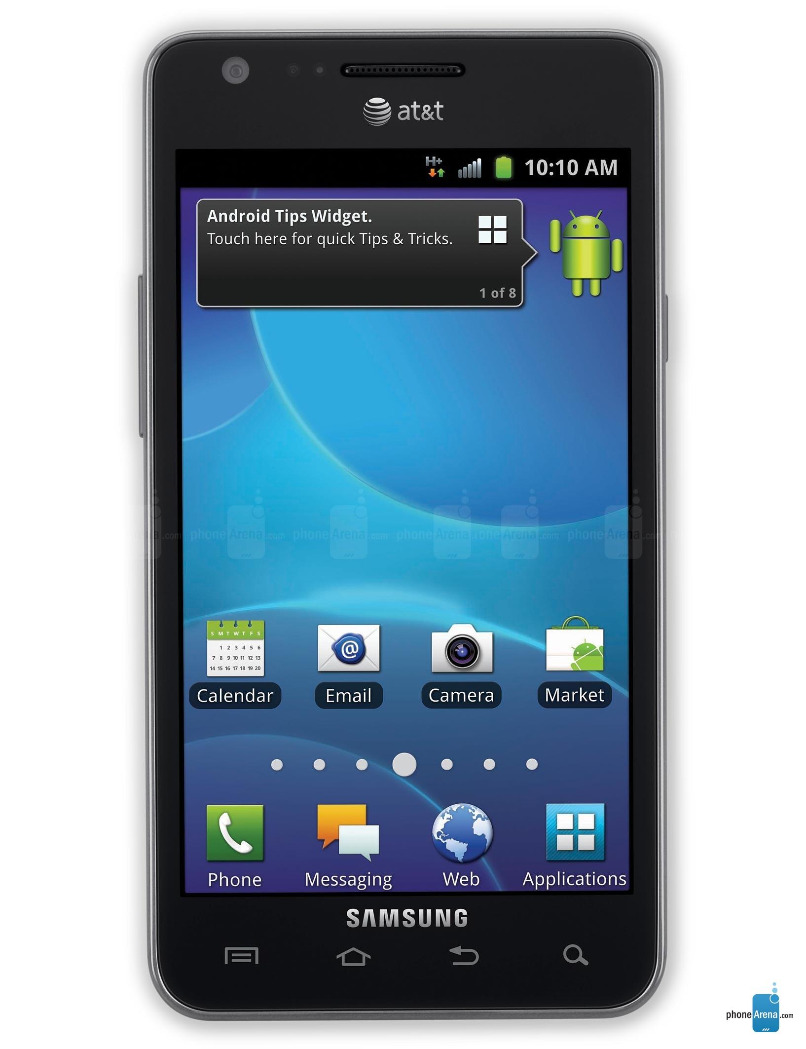 samsung galaxy s ii at t photos rh phonearena com Samsung Galaxy S 2 Samsung Galaxy S2 I777