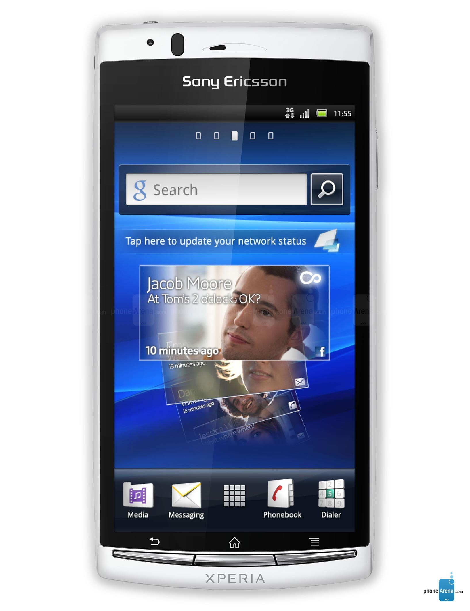 sony xperia phone with 8 megapixel camera