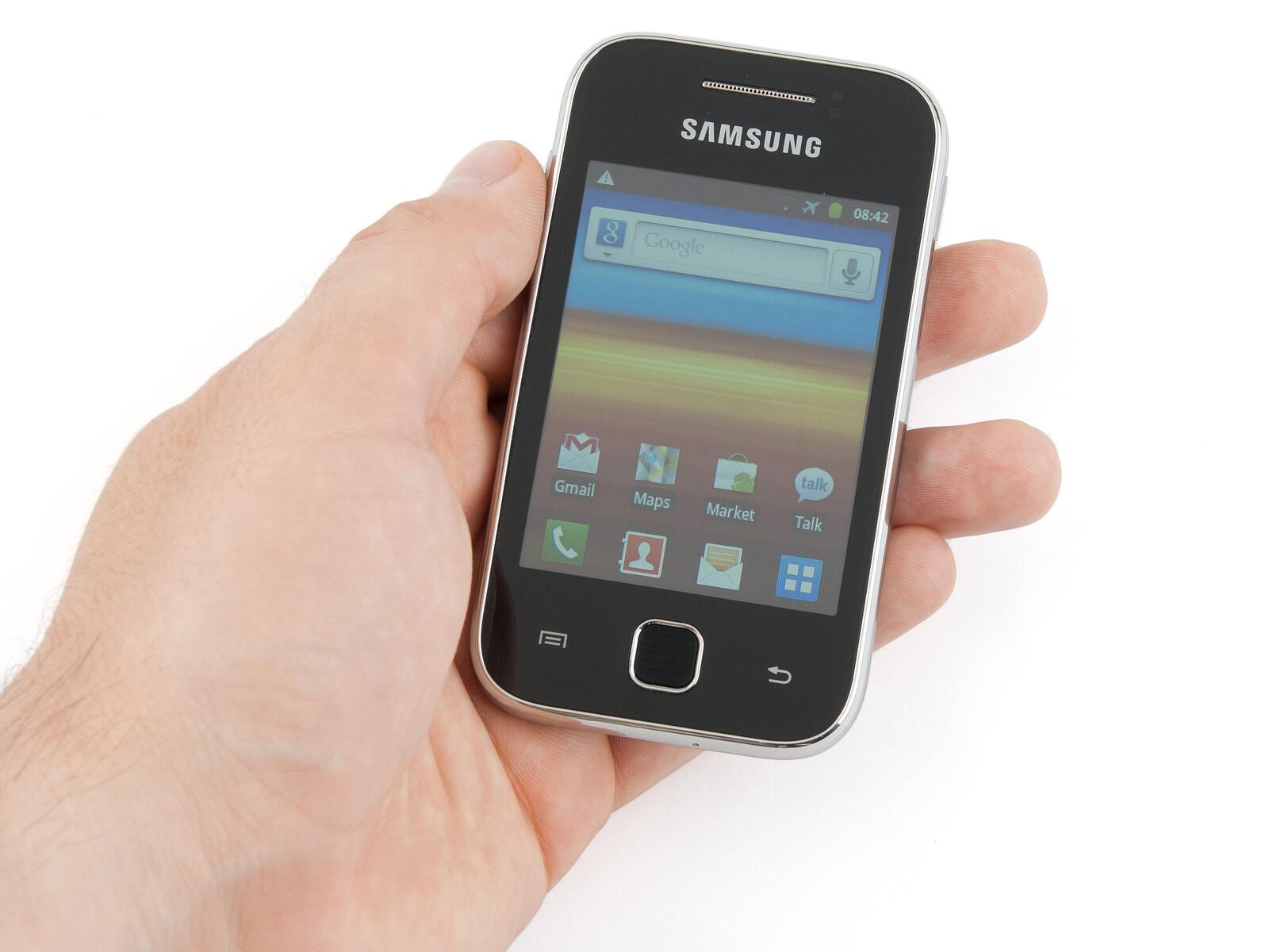 Samsung galaxy y specs.