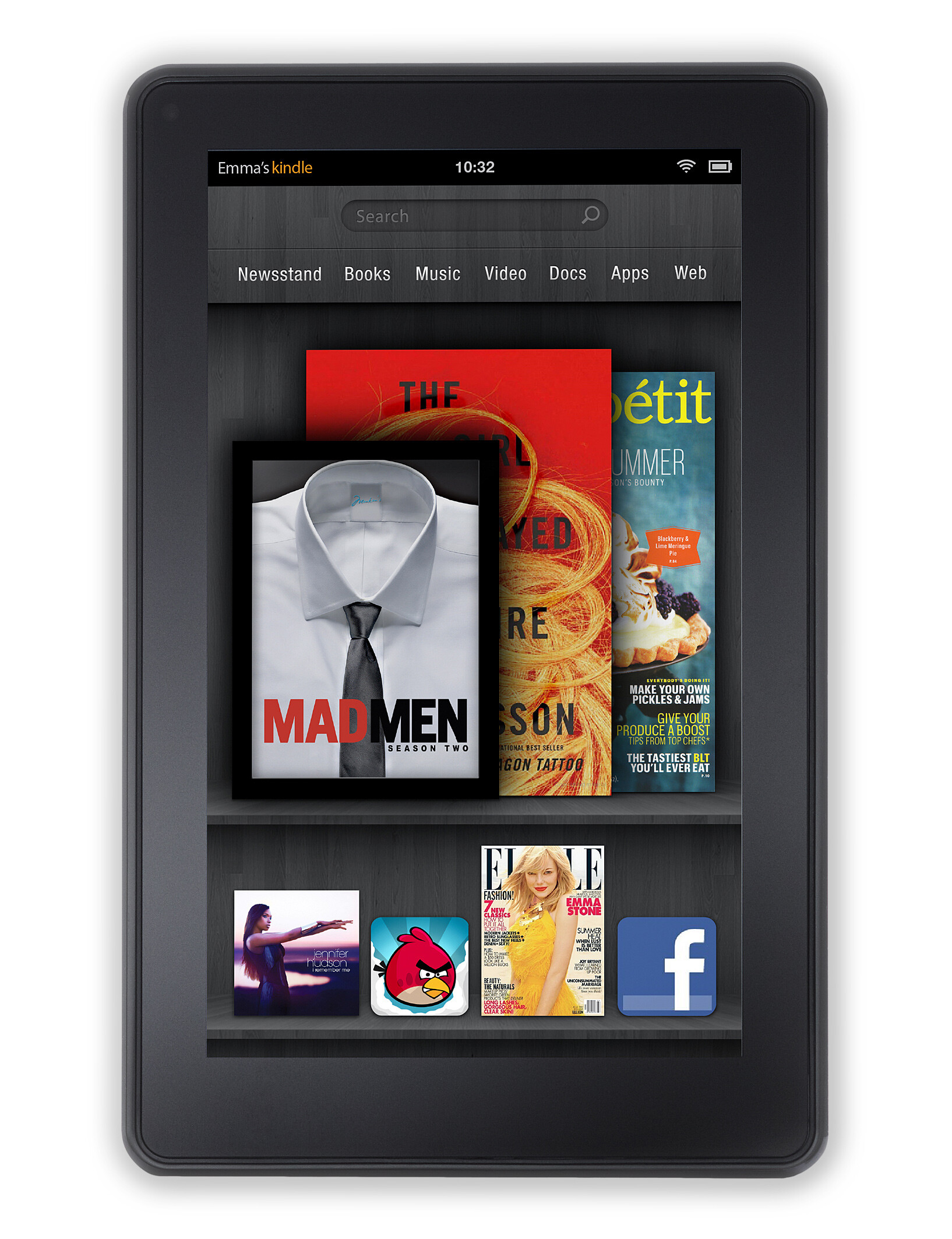 kindle fire 5th generation specs