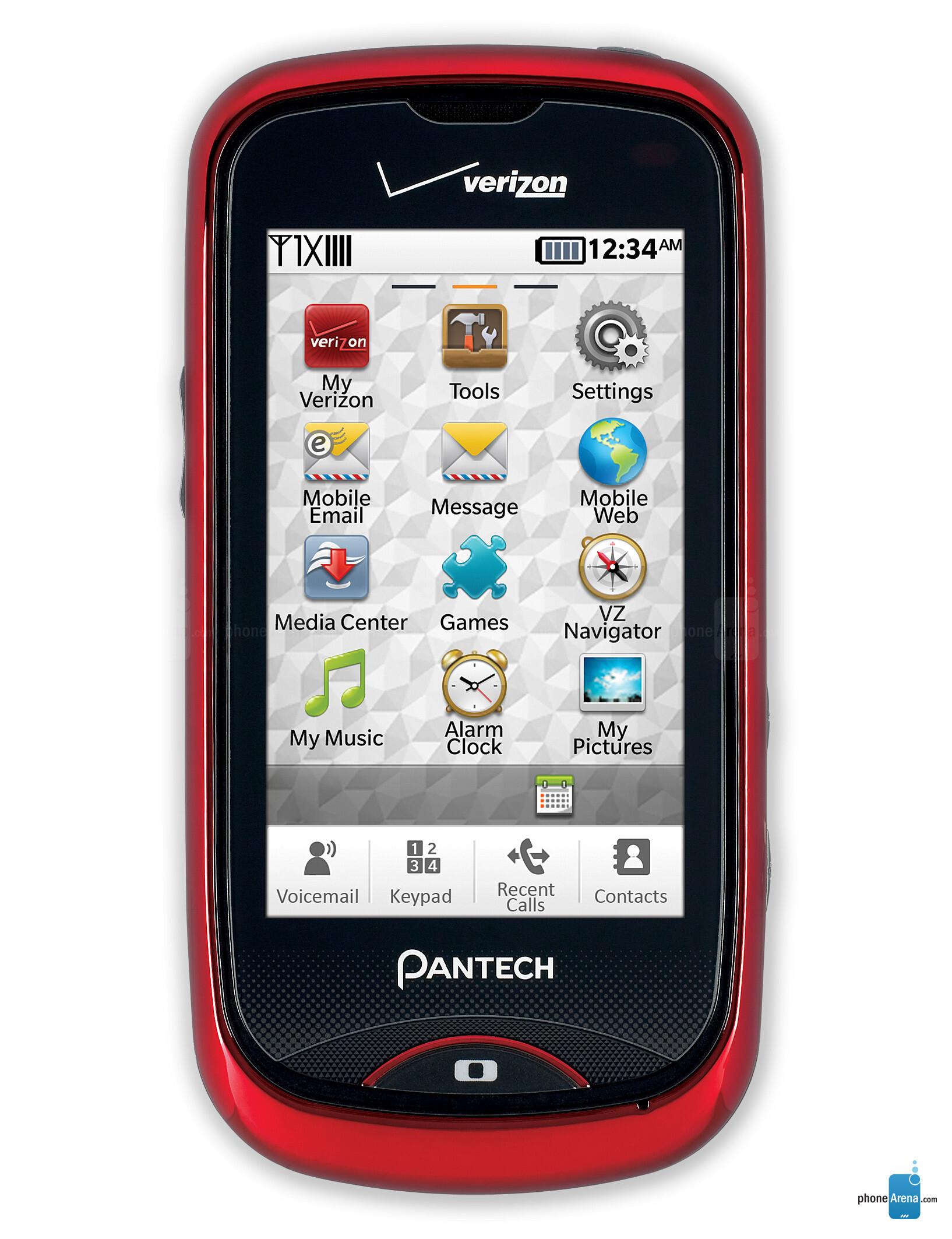 pantech hotshot photos rh phonearena com Pantech Cell Phone Manual verizon pantech user manual