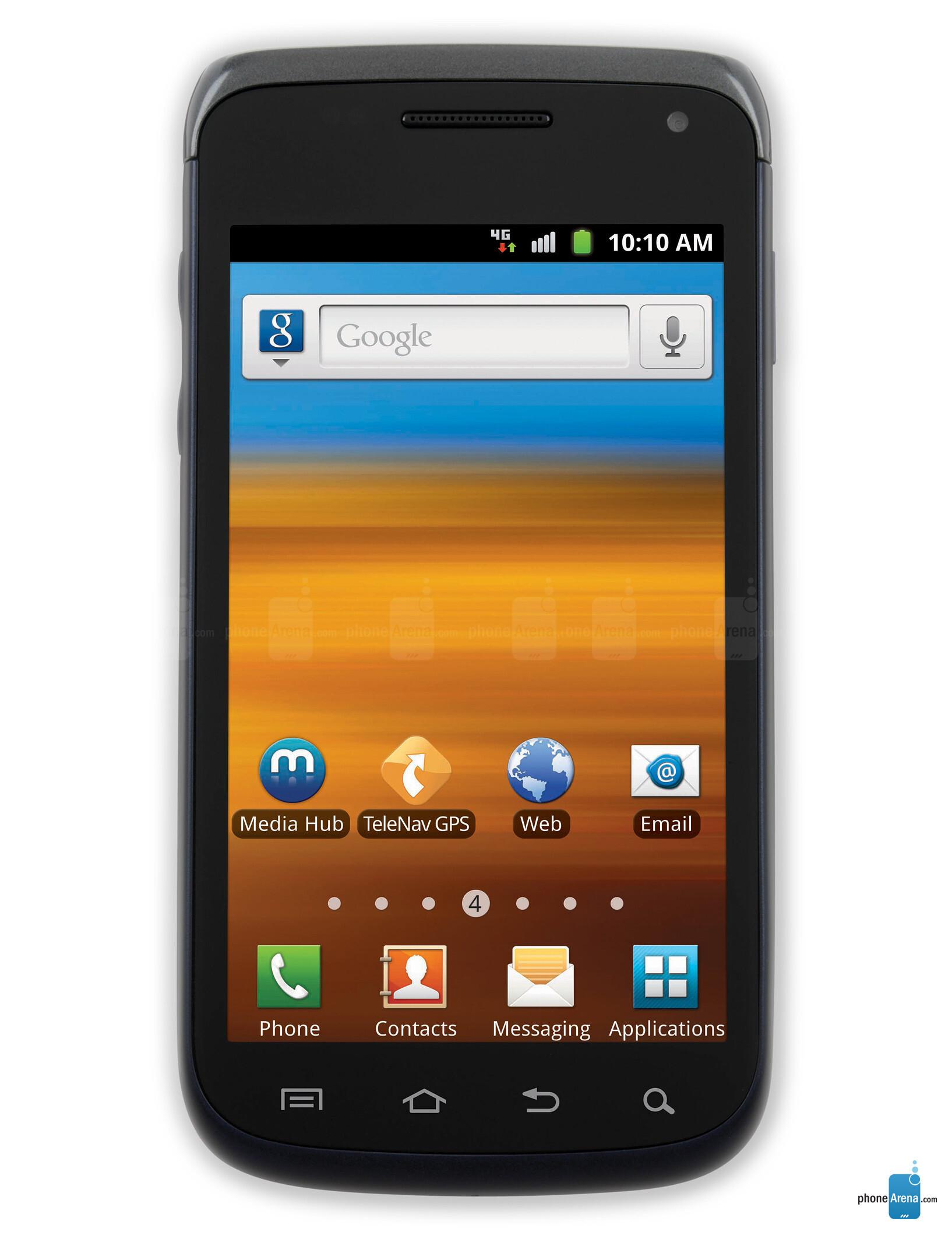 4g Blue Tick Phones Samsung Exhibit Ii G