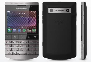 BlackBerry Porsche Design P'9981