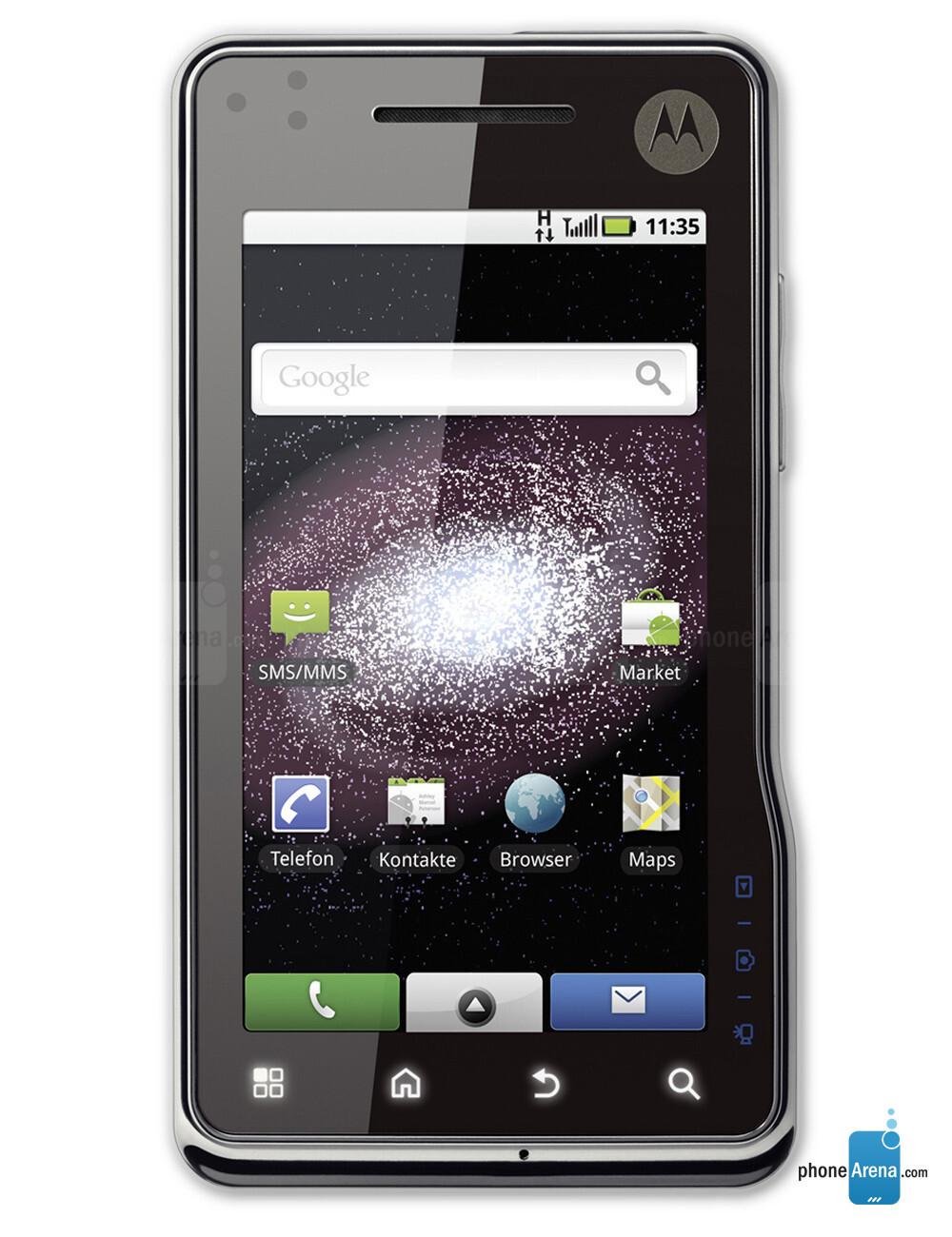 Motorola MILESTONE XT720 specs