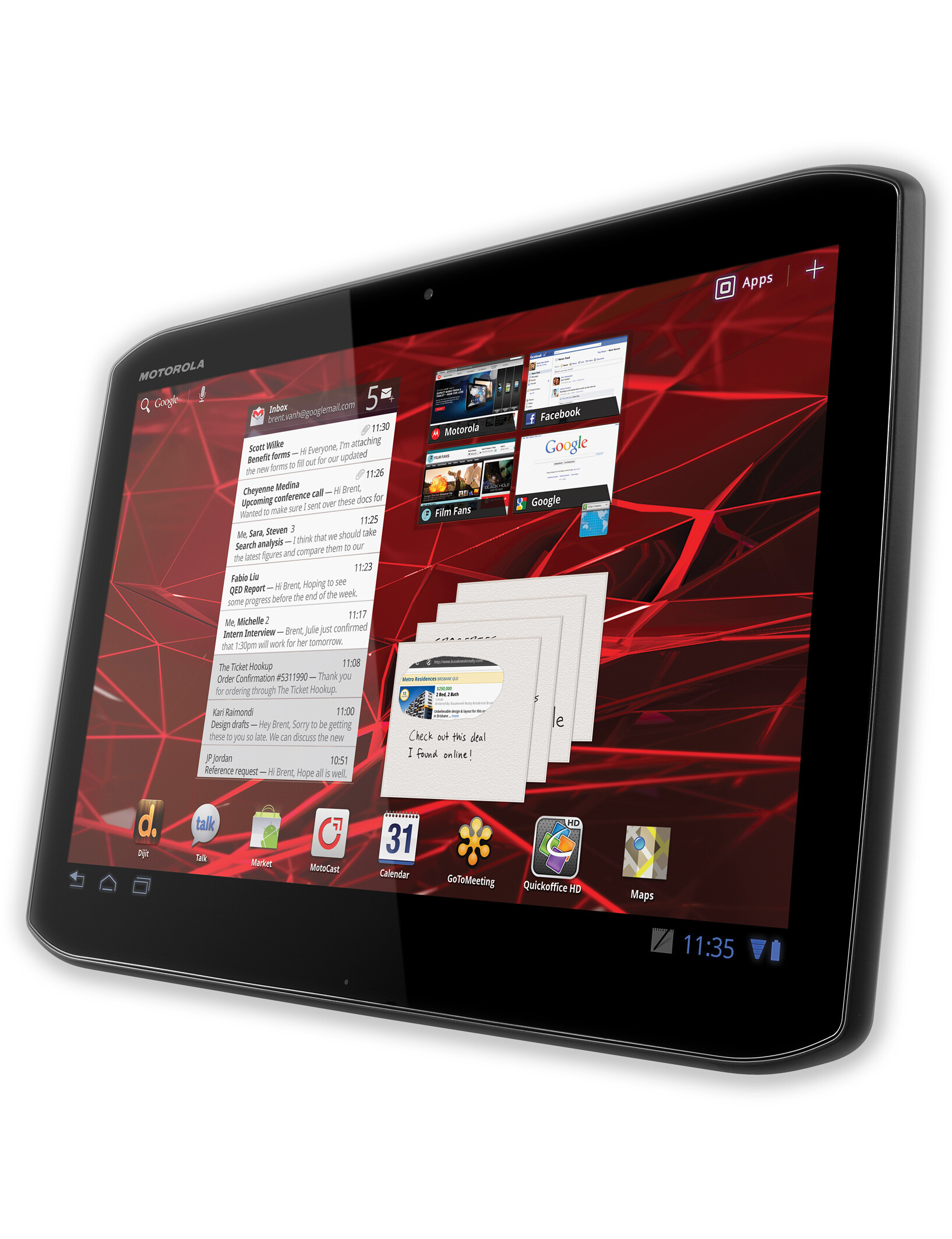 motorola xoom 2 specs. Black Bedroom Furniture Sets. Home Design Ideas