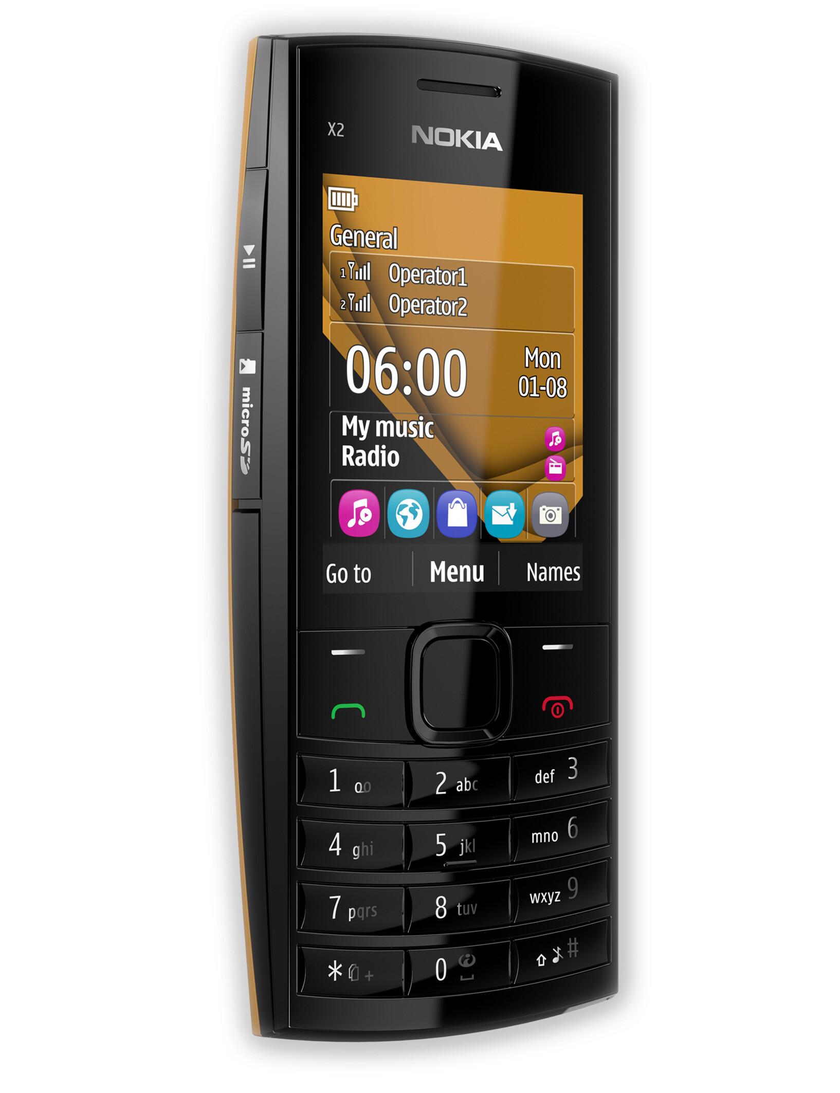 Nokia X2-02 specs