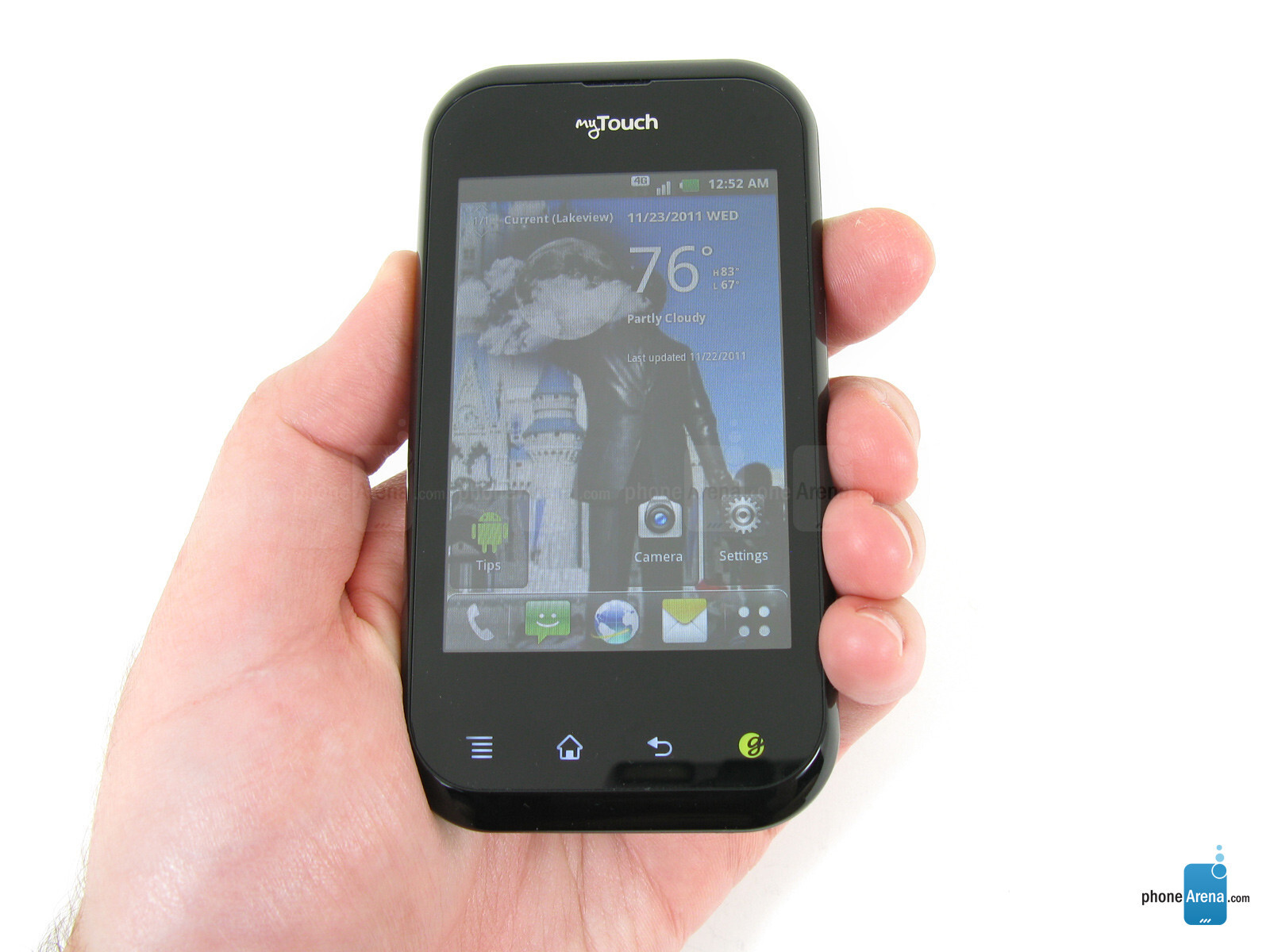 t mobile mytouch q photos rh phonearena com LG myTouch 4G Review T-Mobile LG 4G Battery Removal