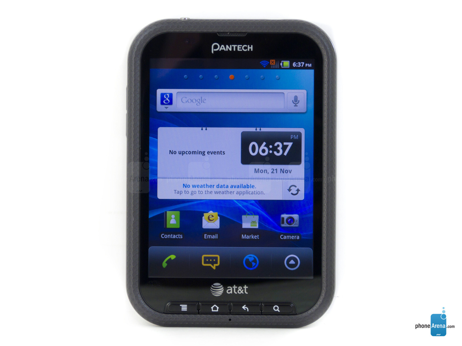 Pantech Pocket Specs