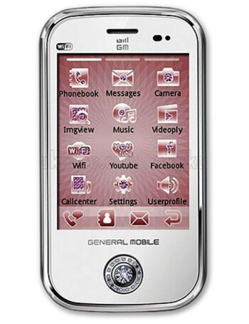 General Mobile Diamond Touch