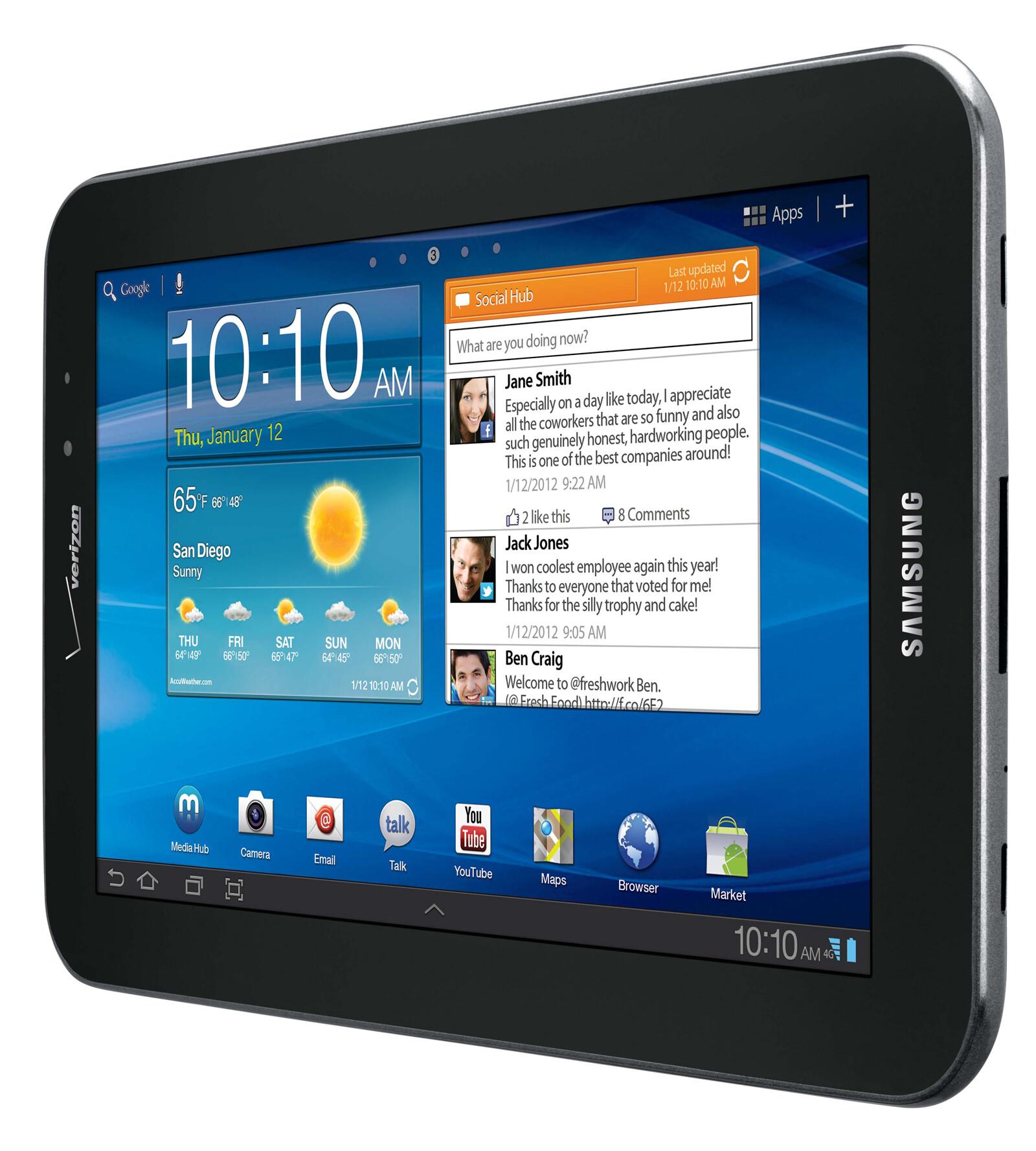 Samsung Galaxy Tab 7.7 LTE specs