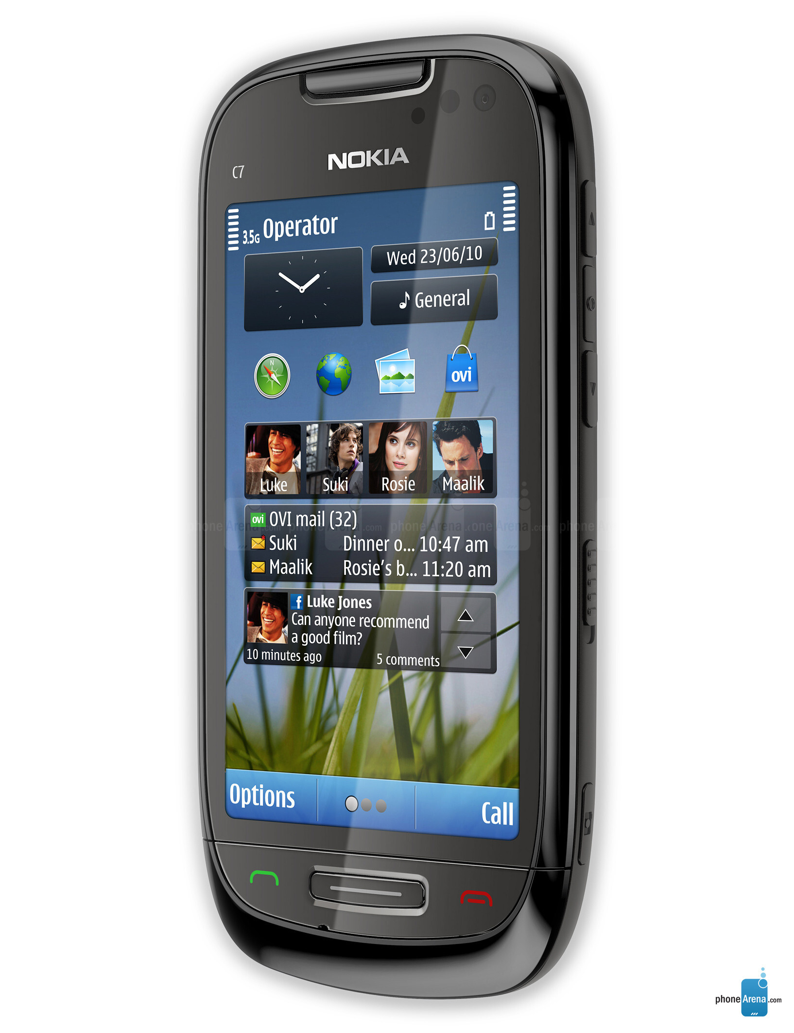 Nokia C7 Specs