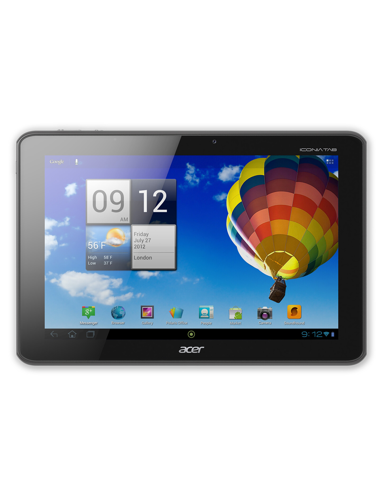 Acer Iconia Tab A510 specs