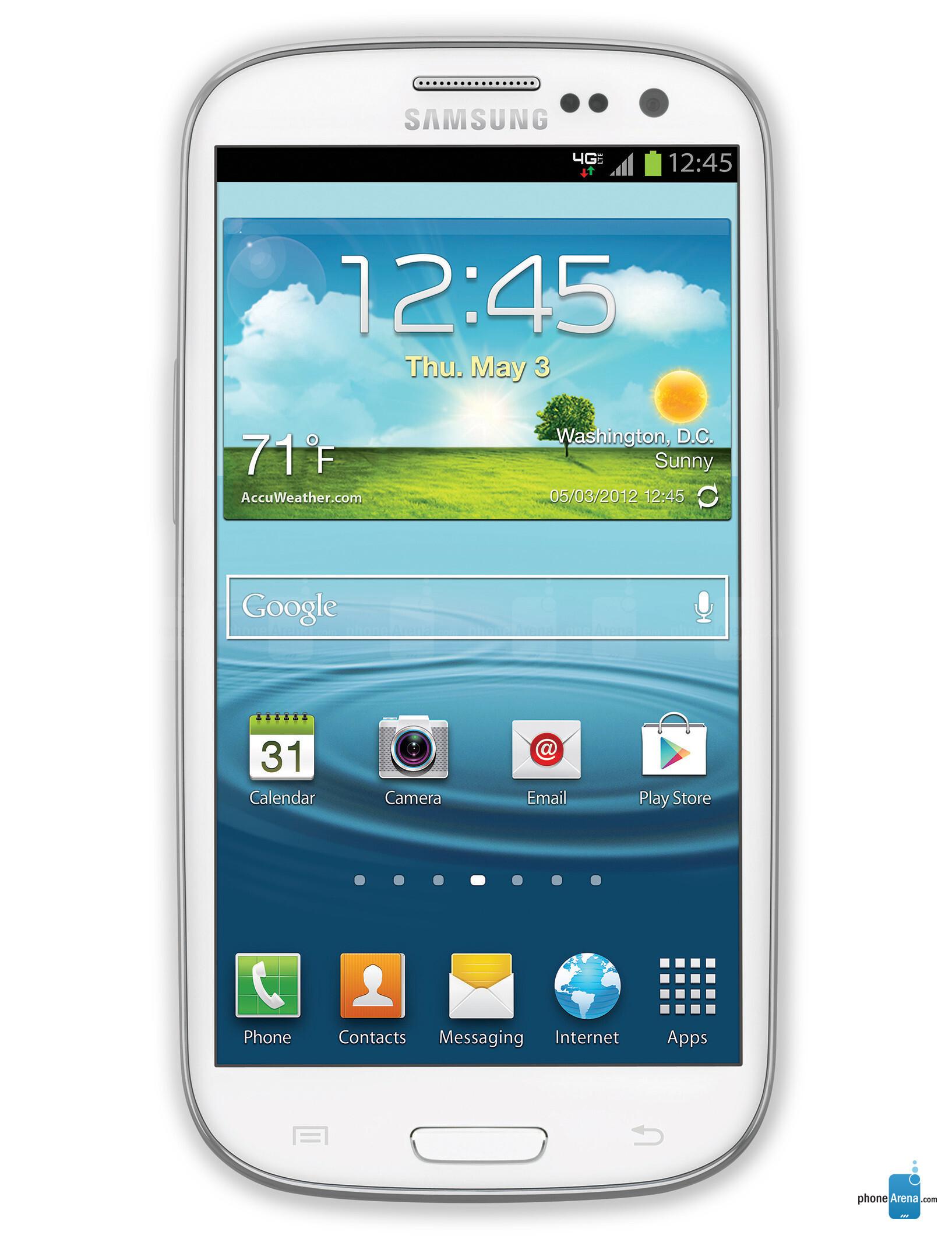 4g Blue Tick Phones Samsung Galaxy S Iii Verizon