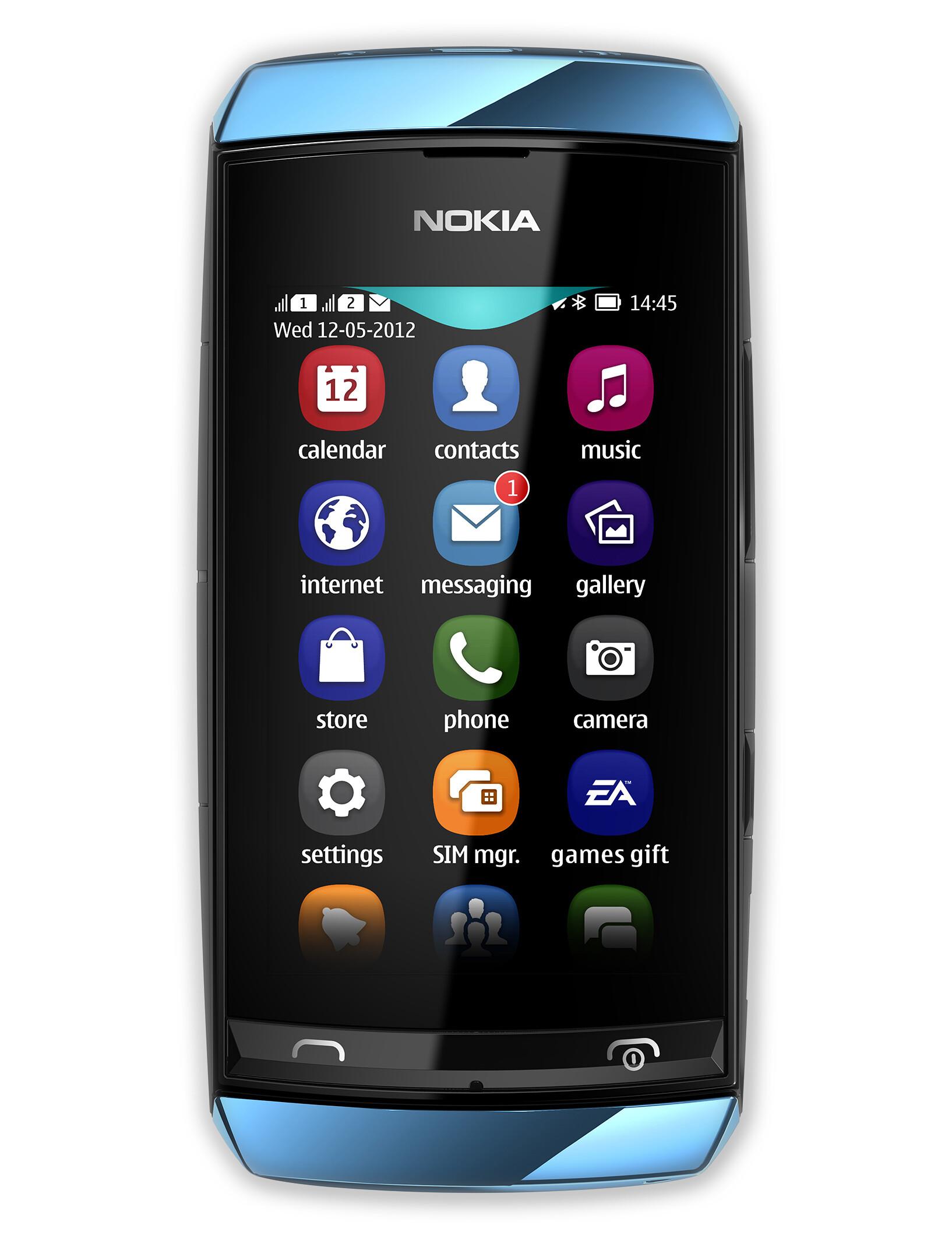Nokia Asha 305 Front Viewjpg | Apps Directories
