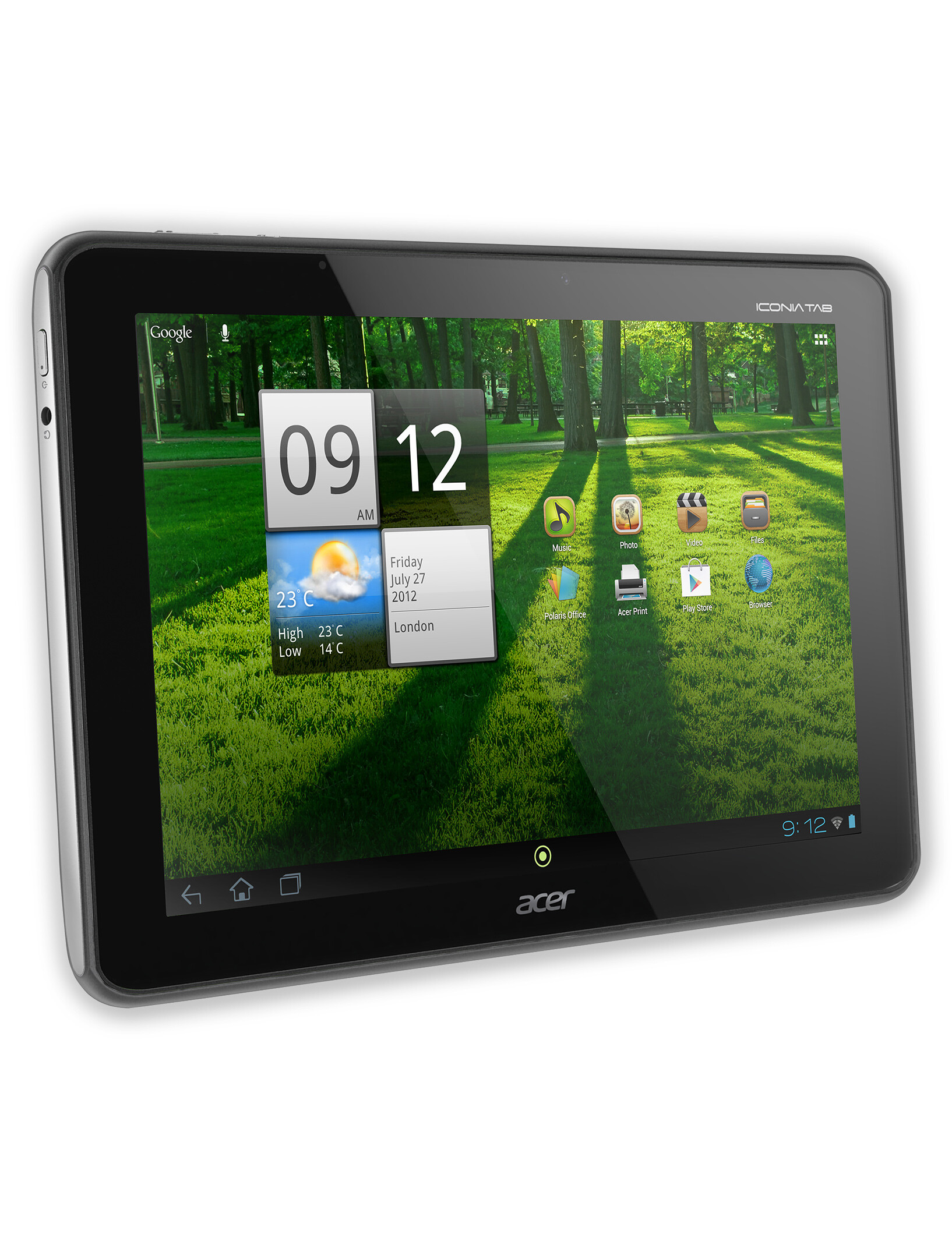 Acer Iconia Tab A700 full specs