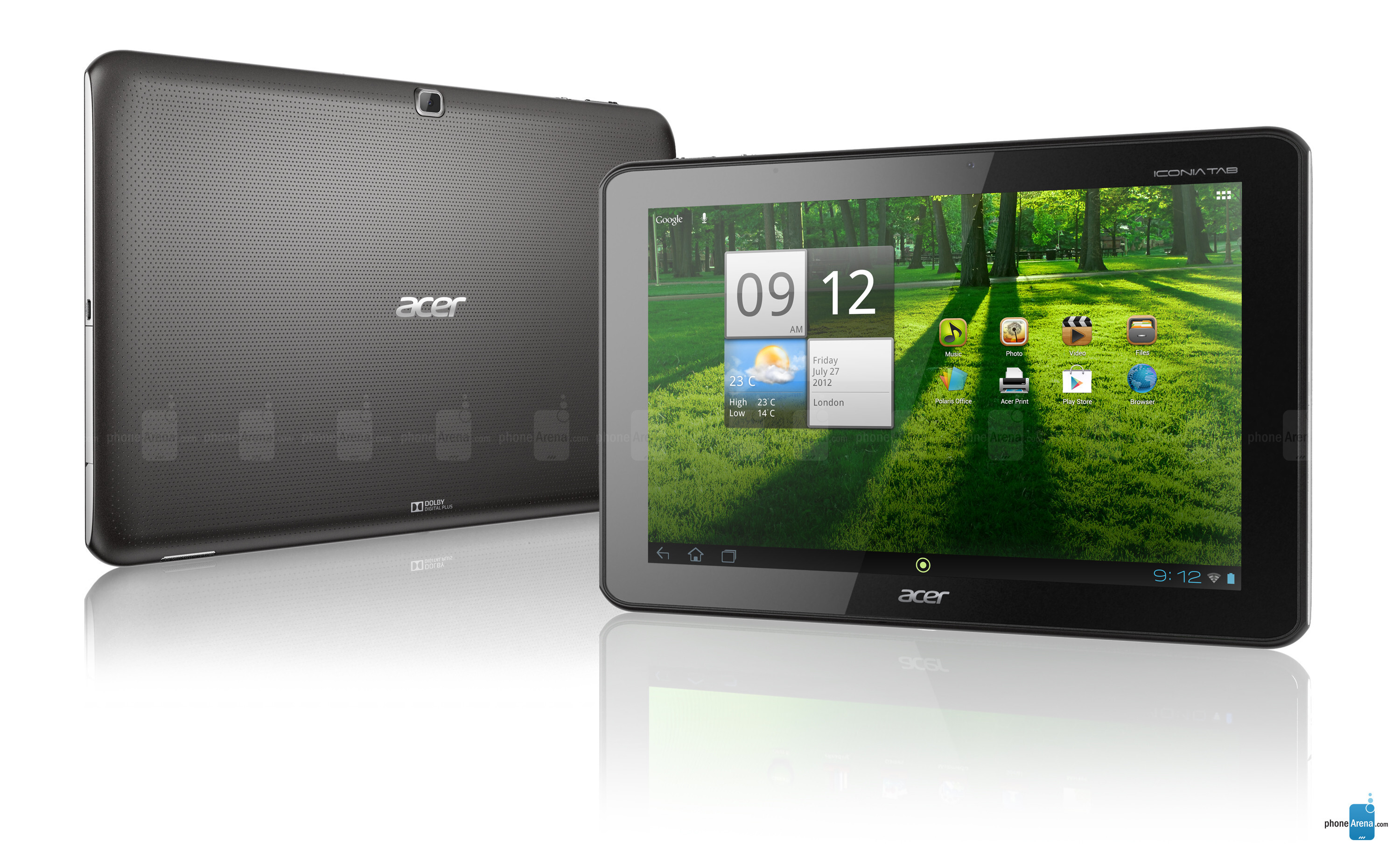 Acer Iconia Tab A700 Specs