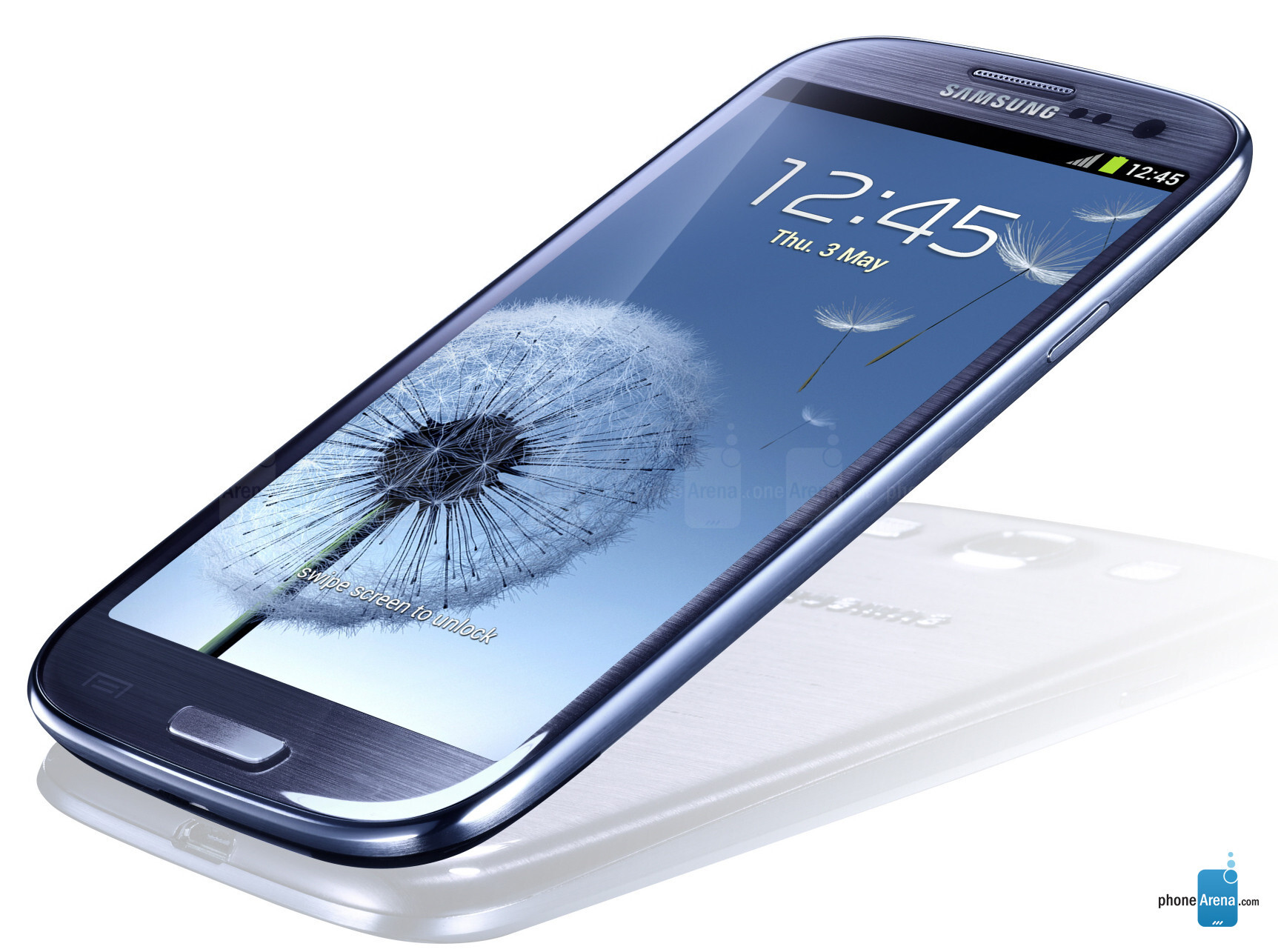 Ad On Samsung Phone