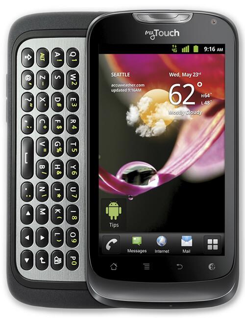 t mobile mytouch q 2 specs