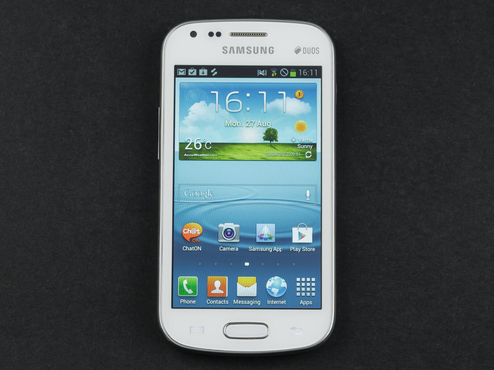 Samsung Galaxy S Duos Specs