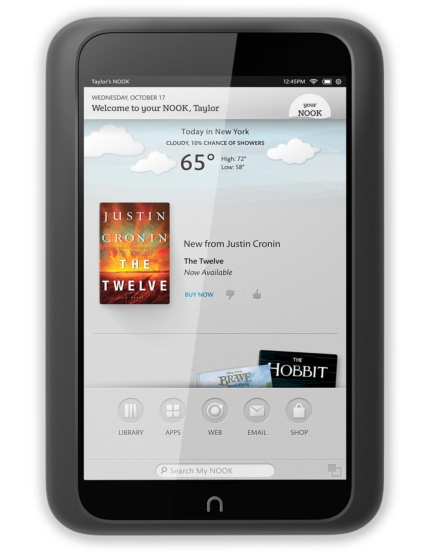 Barnes & Noble NOOK HD specs