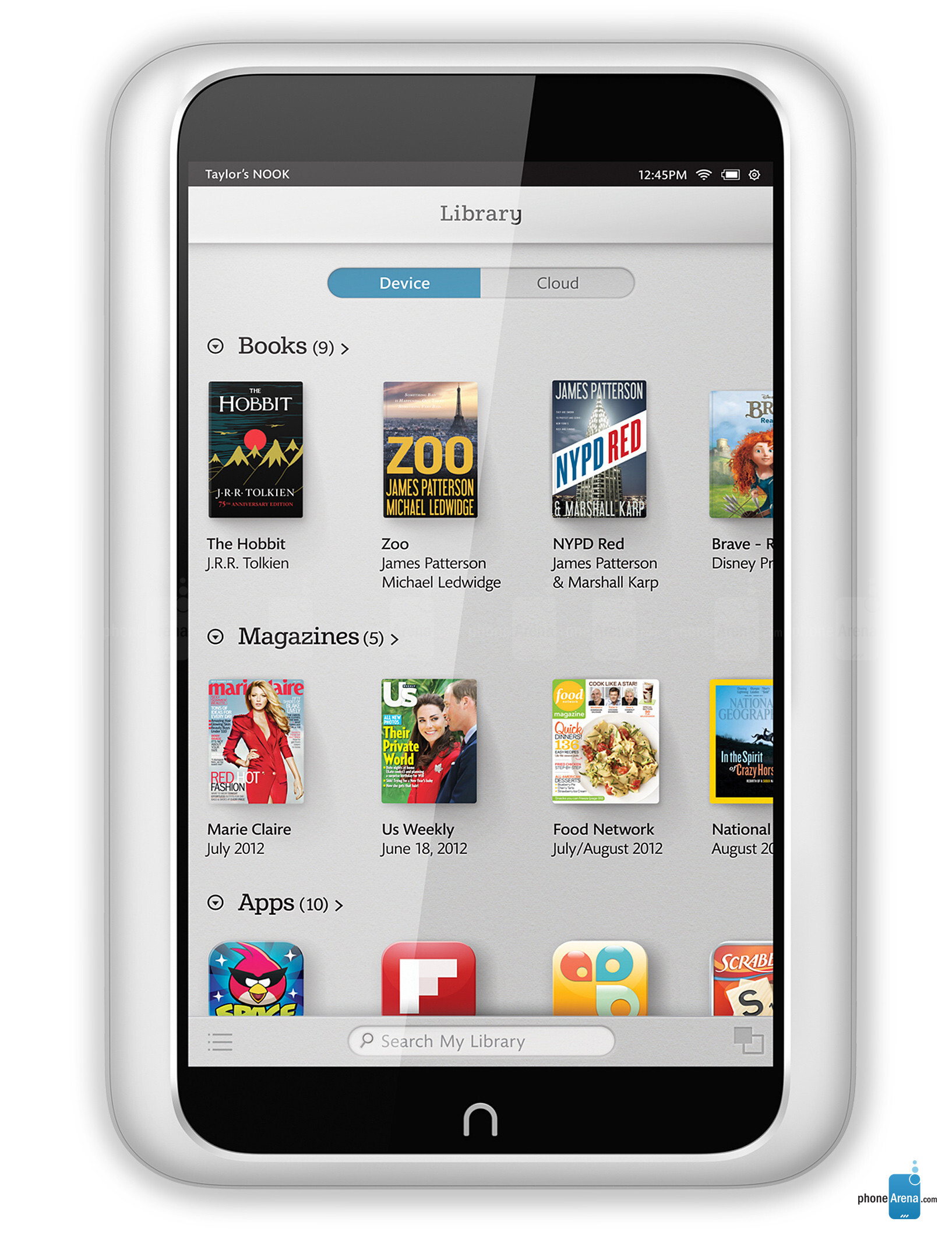 Barnes Amp Noble Nook Hd Specs