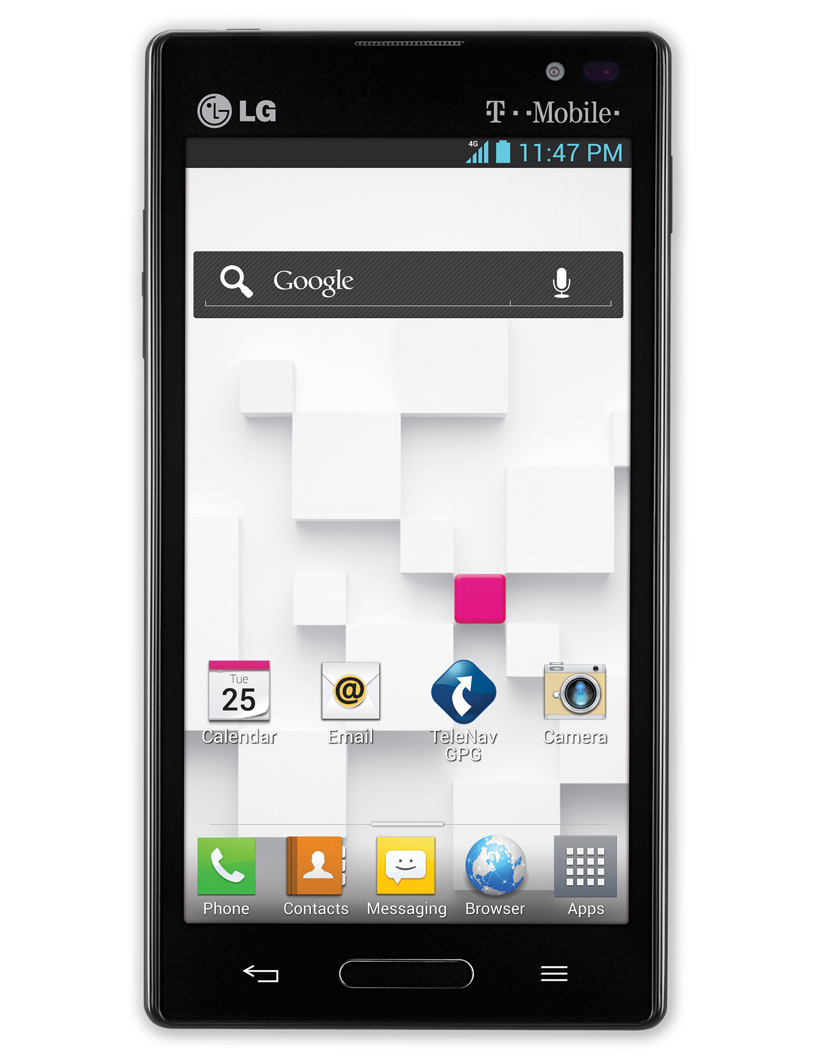 LG Optimus L9 T Mobile specs